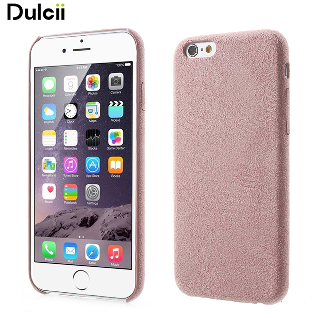 newest ddeff 9232f US $2.51 |Dulcii For iPhone 6s Plus / 6 Plus Suede Skin PP Mobile Phone  Casing 5.5 inch-in Fitted Cases from Cellphones & Telecommunications on ...