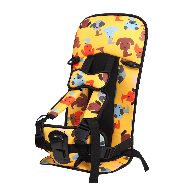 Protection Seat Cushion For 2-12 Years Old Children Baby Safety Sitting Mats Cartoon Chairs Covers For Kids Breathable Child Pad