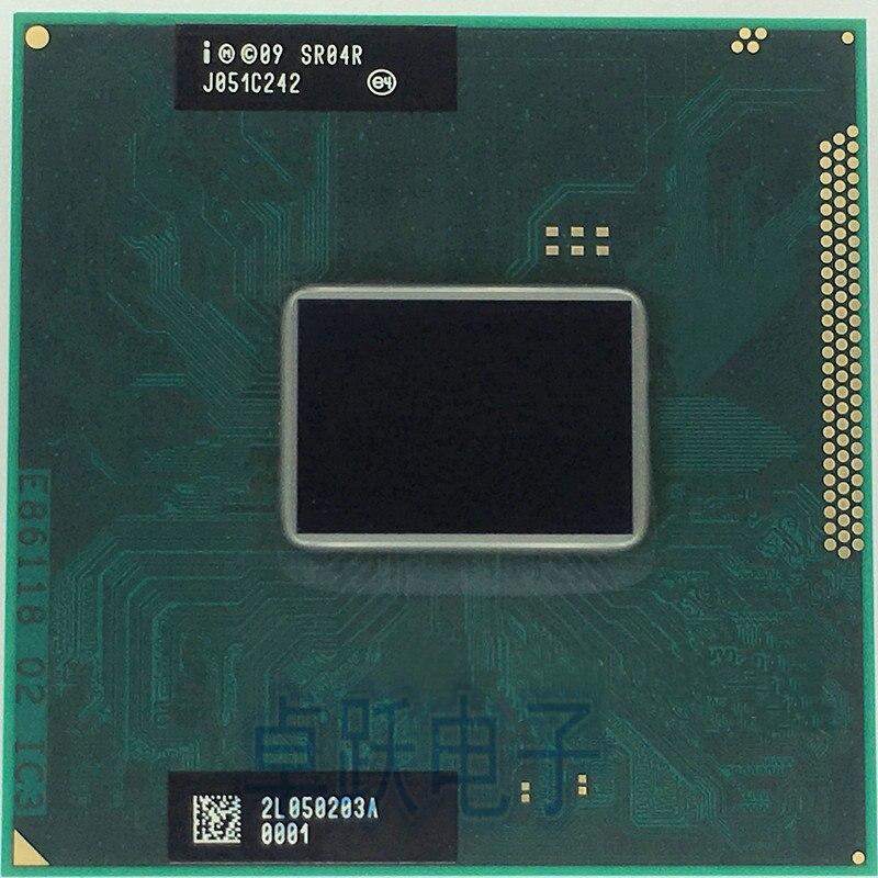 Процессор для ноутбука Intel Core I3 2310M, 2,10 ГГц, SR04R