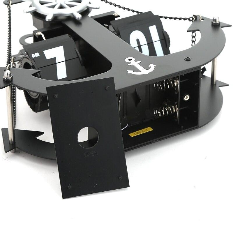 Autobots ancla modelado hélice estudio giratorio sala de estar mudo - Decoración del hogar - foto 3