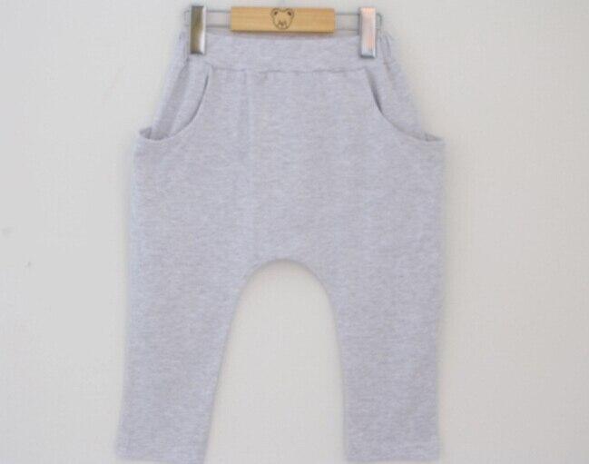 2015 wiosna lato gorąca sprzedaż harem spodnie dzieci moda bawełna - Ubrania dziecięce - Zdjęcie 4