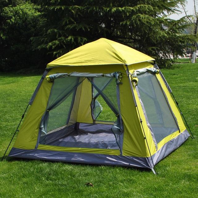 VILEAD C&ing Tent 3-4 People Space Higher Outdoor Quick Open Tent Waterproof Waterproof Material & VILEAD Camping Tent 3 4 People Space Higher Outdoor Quick Open ...