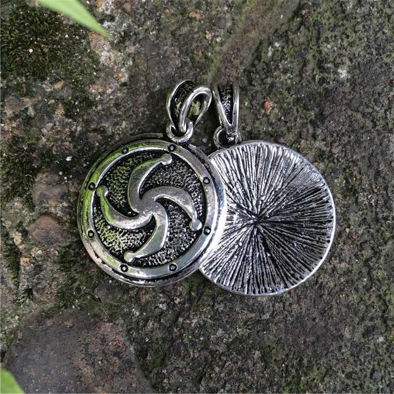 Античная винтажный браслет с металлической вставкой стержень подвеска, амулет, родившиеся кулон этнические украшения руччной работы с скандинавский кулон