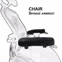 Navio da gota 2 pcs/par Cotovelo do Braço Da Cadeira Almofadas de Espuma de Memória Ultra Suave Travesseiro Cotovelo Almofadas de Alívio para Home Office cadeira|Acessórios de móveis| |  -