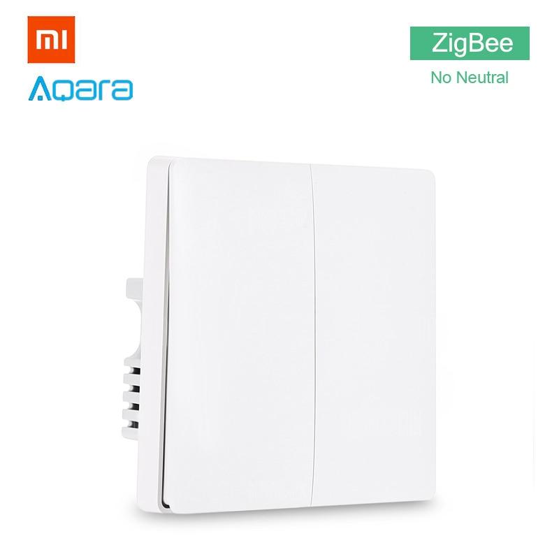 Xiaomi Aqara Smart Light Switch Home Zigbee No Neutral