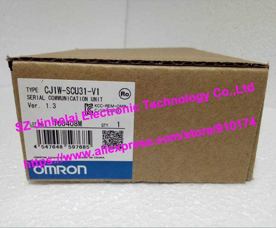 New and original CJ1W-SCU31-V1 OMRON Serial communication unit [zob] new original omron omron beam photoelectric switch e3jk tr12 c 2m 2pcs lot