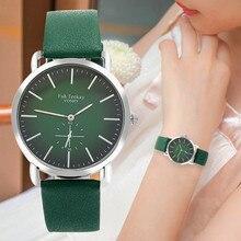 Luxury Gradient Color Women Watches Multicolor Bracelet Fashion Leather Strap Quartz Ladies Watch Thin Steel Female Wristwatch