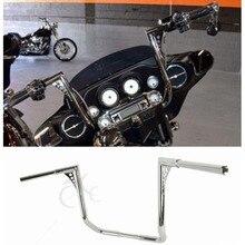 Free Shipping Motor 1-1/4 18 Devil APE Bars Handlebars For Harley Dressers Baggers Electra Glide Touring FLHT FLHTC 82-16