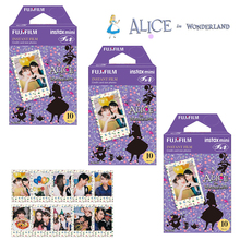 Fuji Fujifilm Instax Mini 8 Film cadre Alice 30 feuilles pour Mini instantané 7S 9 11 25 50 70 90 caméra Photo SP 1 lien de SP 2
