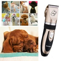 Rechargeable Low Noise Cat Dog Hair Trimmer Electrical Pet Hair Clipper Remover Cutter Grooming Pet Accessories