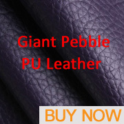 1 Black High Quality PU Leather Fabric Like Leechee For DIY Sewing Sofa Table Shoes Bags