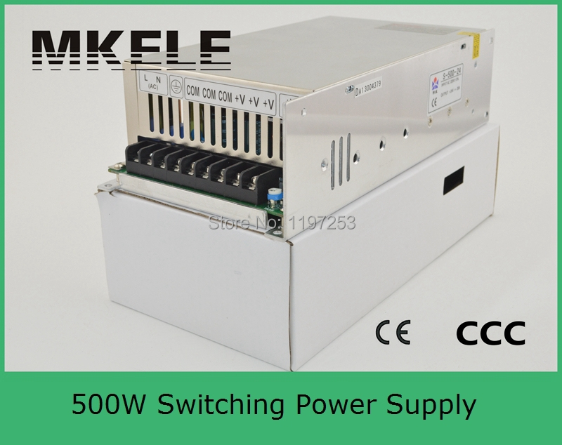 ФОТО high efficiency low cost 500watt single output type nice switching power supply 48v 500w S-500-48 10A with CE approved