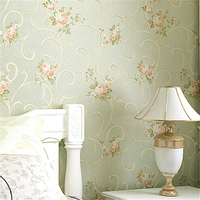 beibehang Vintage Feminine Floral Bouquet wallpaper rolls Flower Trail Floral Wall paper 3D design effect home gorgeous decor