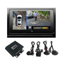 Weivision système de caméra à vision panoramique 1080P HD 360, système de caméra à vue panoramique, avec DVR, pour voiture, Jeep, Suv et Van