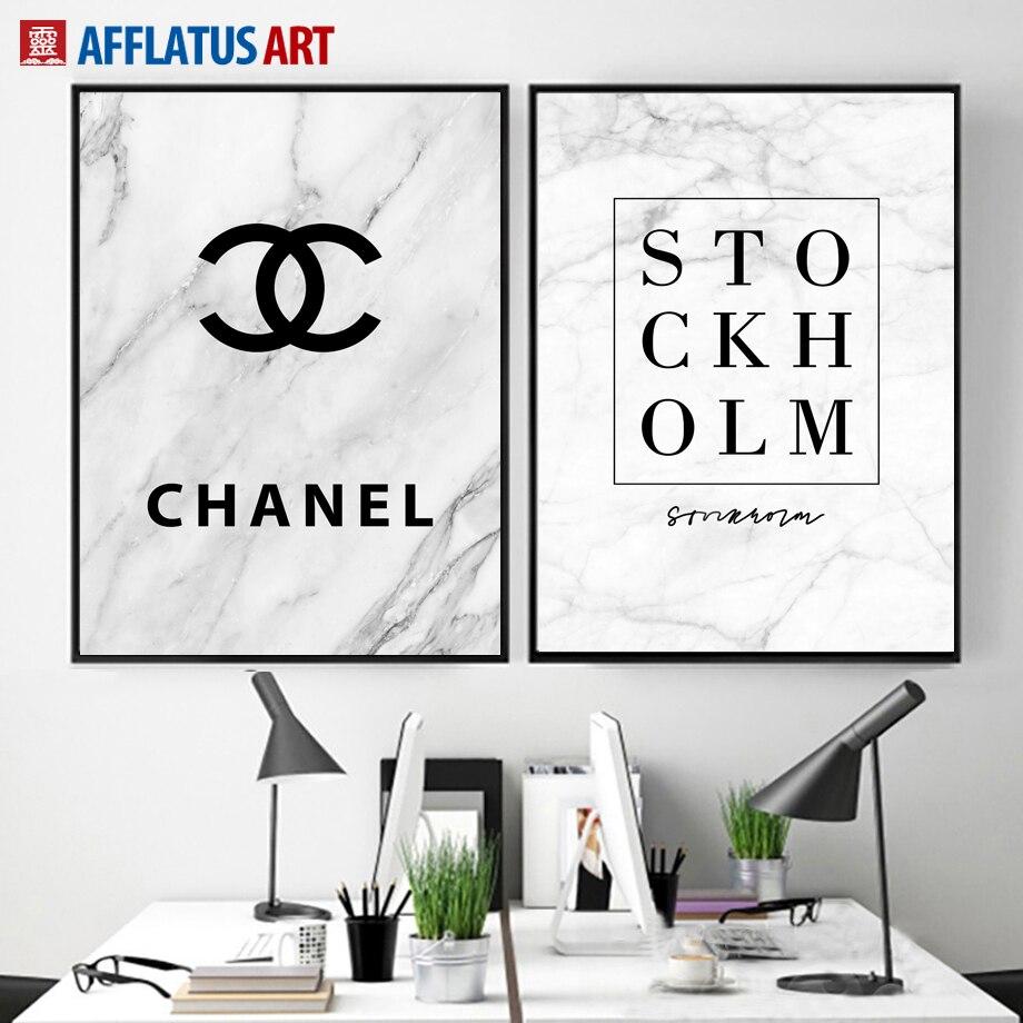 afflatus coco citations nordique affiche toile peinture affiches et