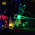 Wedding Waterproof Dragonfly LED Solar Garlands String Light 7M 50LED Outdoor Birthday Bars Hotels Decoration Casamento Luces