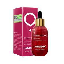 LANBENA отбеливающий эфирное масло Витамин С Сыворотка для Кожи Лица Пятновыводитель крем выцветание темные пятна уход укрепляющий против старения