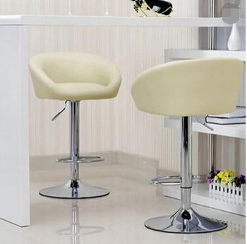 цена на European fashion bar chair lift bar chair simple reception Bar chair lift cashier tall stool