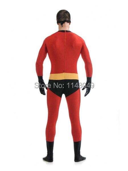 Անվճար առաքում պարոն Incredible Spandex Superhero - Կարնավալային հագուստները - Լուսանկար 3