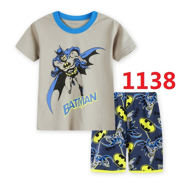 5e6762729134 Baby Boys Girls Summer Sleepwear Clothing Sets Boy Girl Pajamas Set ...