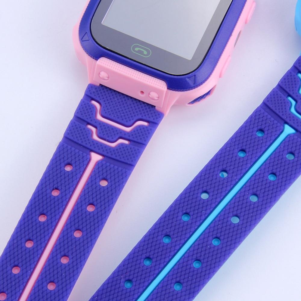 smartwatch pink close up