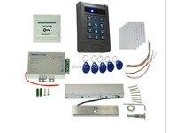 Kit de Controle de Acesso RFID ID Reader + Keyfob Greve Elétrica Fechadura Da Porta Fechadura Magnética