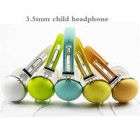 3 5mm Headphone Fitness Foldable Kids Children Headphone Wire Control Earphone Microphone Kid Headset For Boy