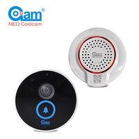 COOLCAM Waterproof HD 720P IP Camera Wireless WIFI Wide Angel View Doorbell Door Bell Bulit IN