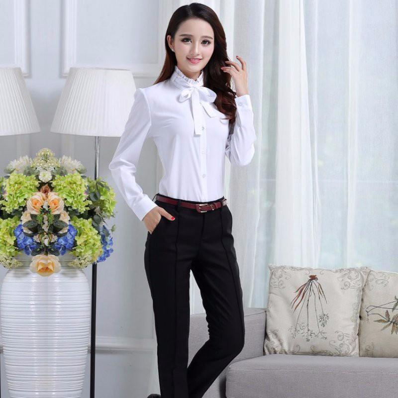 HTB1qdHPNpXXXXcpaXXXq6xXFXXXX - FREE SHIPPING White Blouse Shirt Women Work Wear Long Sleeve JKP092