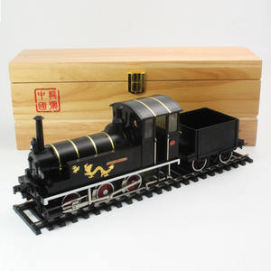 Locomotive-Model 1:32 Long-Steam of Railway-Model-Collection Power-Age