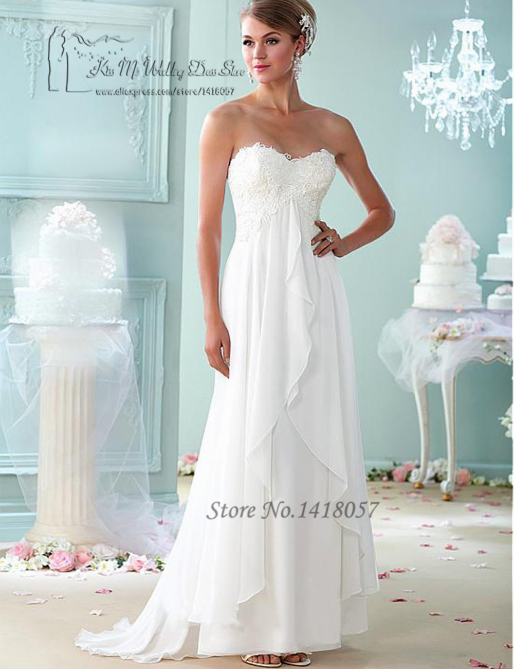 Summer cheap maternity wedding dresses china empire vestido de summer cheap maternity wedding dresses china empire vestido de noiva plus size lace bridal dress gowns chiffon 2016 trouwjurk in wedding dresses from ombrellifo Images