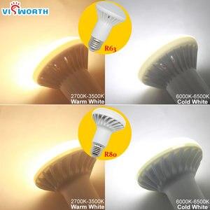 Image 5 - R50 Lumière Led E14 E27 Base 3W 5W 7W 9W 12W 15W 20W Led Ampoule R39 R63 R80 Br30 Br40 Le Projecteur AC 110V 220V 240V CHAUD Blanc Froid