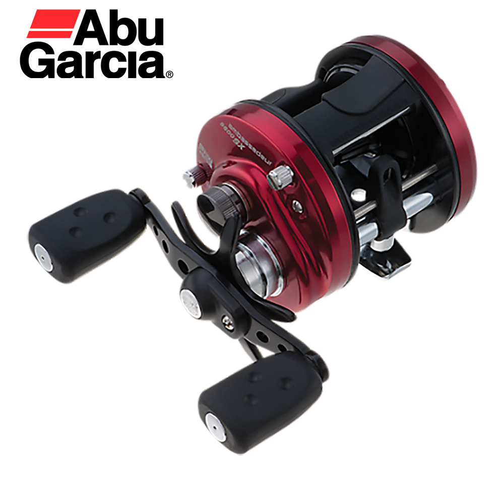Abu Garcia Ambassadeur SX Power Reliability 3+1 Bearings 5.3:1 Speed 12.5 Pounds Power Ultra Smooth Drag Round Casting Reel катушка мультипликаторная abu garcia ambassadeur revo s размер х лес 0 30мм 145м вес 216 г 7 1 6 4 1 l