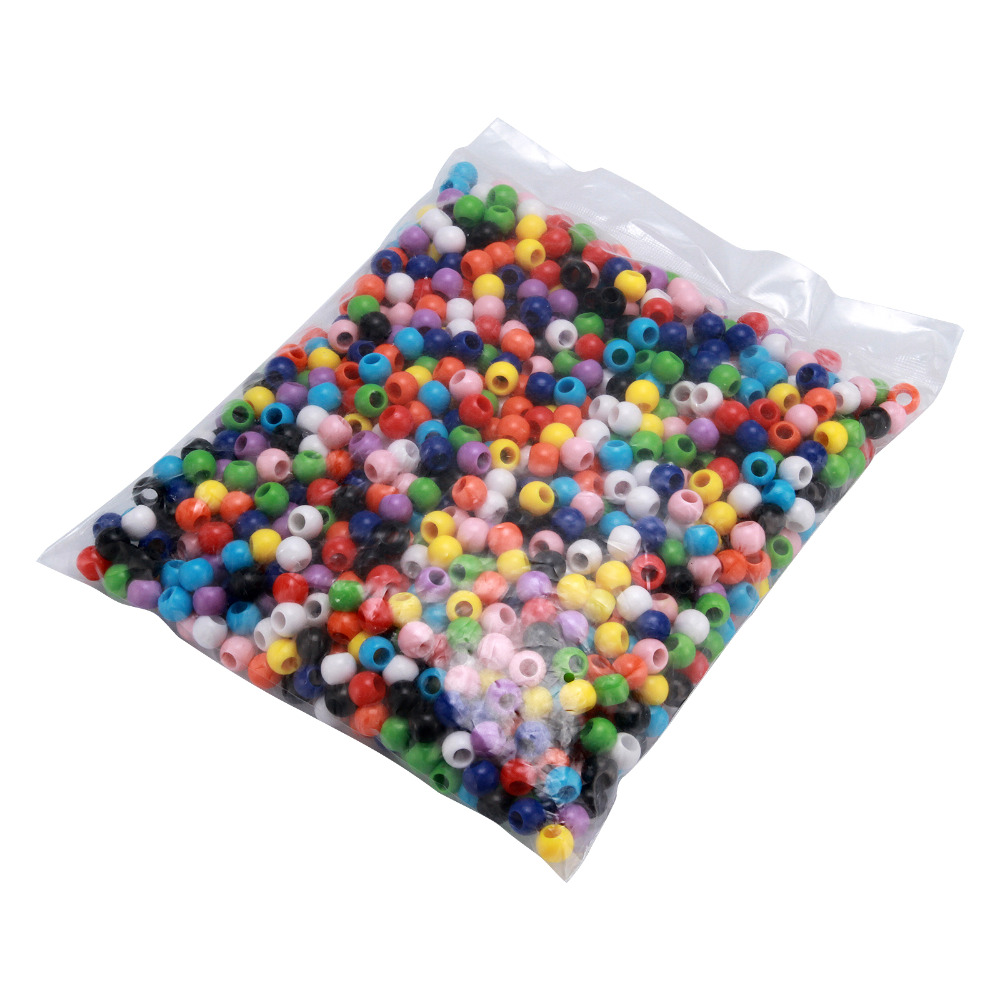 Loose Doreen Beads 1300PCs Mixed Round Acrylic Spacer  10mm DIY selling