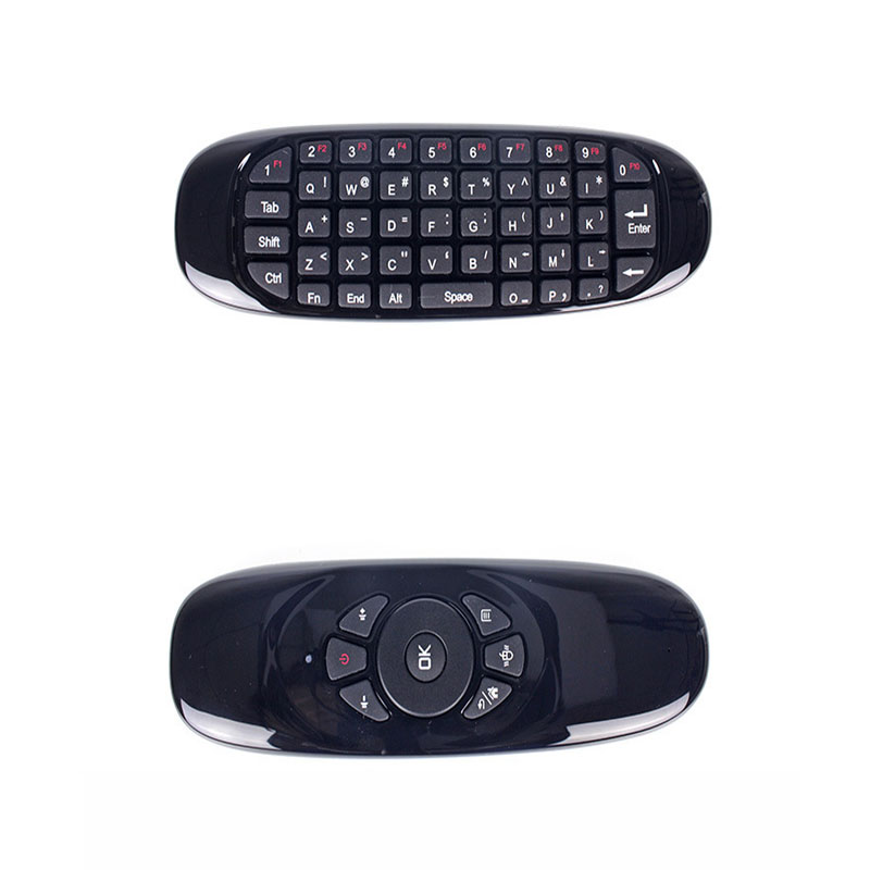 2.4G wireless remote control mouse and keyboard set one mini air flying squirrel mouse c ...