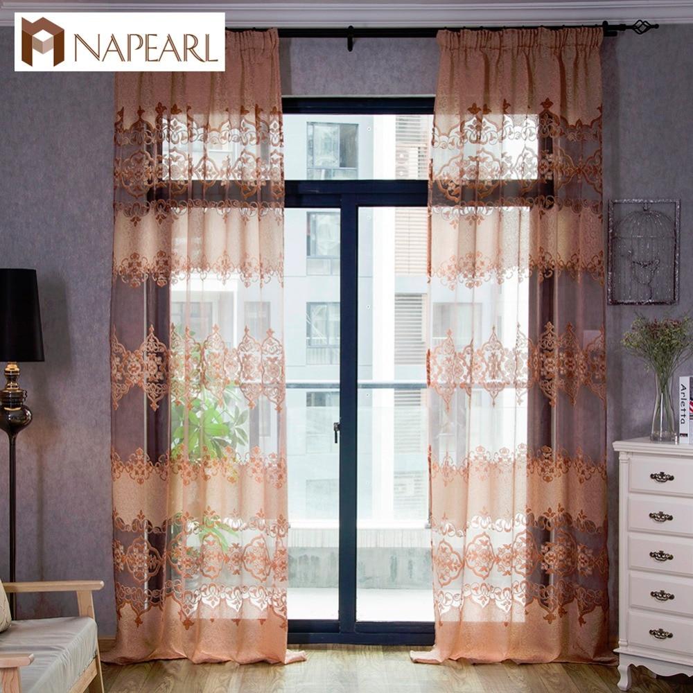 Modern Window Treatment For Living Room Online Get Cheap Modern Kitchen Curtains Aliexpresscom Alibaba