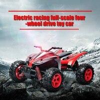 Saiwenfei RC автомобиль 4WD 2,4 ГГц восхождение автомобиль 4x4 двойные двигатели Bigfoot автомобиль дистанционного Управление модель с открытыми внедор