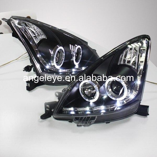 angel eyes led head lamp 2009 11 year tlz for hyundai sonata 2009-2013 year For Nissan Livina headlights LED Head Lamp with Angel Eye