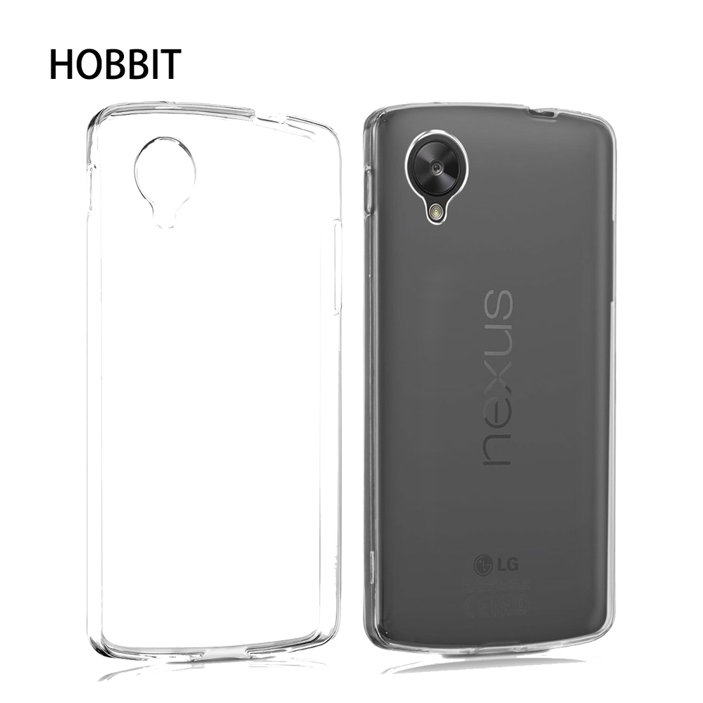 Crystal Case Cover für LG Google Nexus 5X Nexus5 aus TPU Silikon transparent klar Schutzhülle in transparent