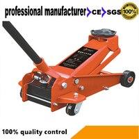 자동차 수리  교체 타이어 및 기타 구조 기능 유압 잭 사용