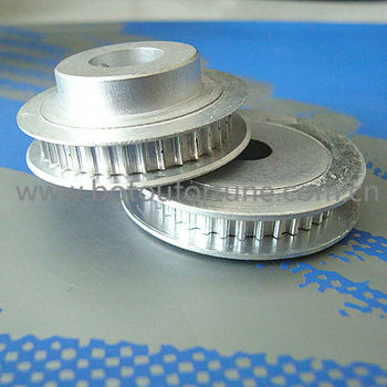 T2.5 Aluminum timing pulley 60 teeth width 10mm and 20teeth width 10mm
