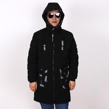 plus size 8XL 7XL 2018 Winter Jacket Men Slim Thick Warm Top Quality Windproof Zipper Clothes For Men Fashion Winter Coats Man