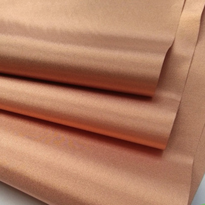 Anti Radiation RFID Shielding Fabric Electromagnetic Cloth Gold Linings Conductive Blocking Fabric Radiation Protection Material