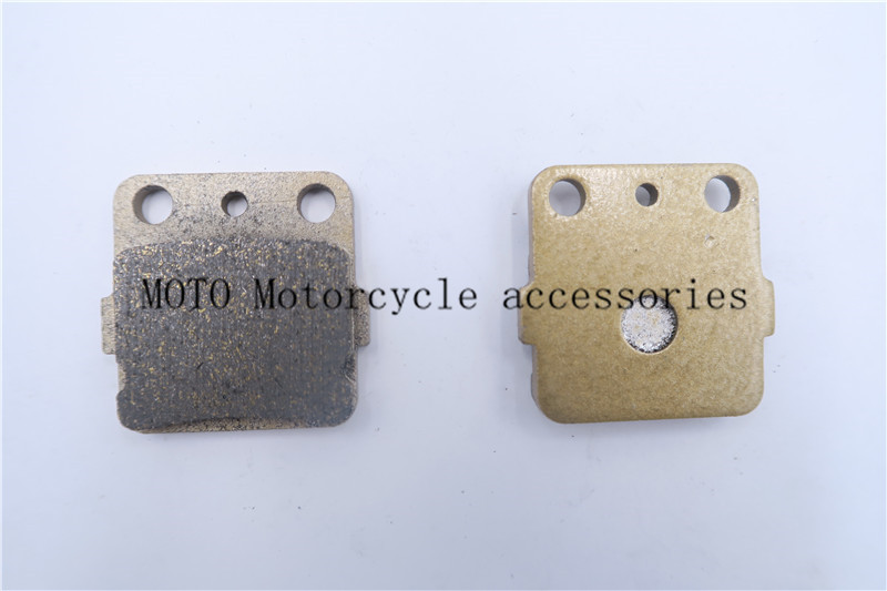 Motorcycle Brake Pads For HONDA CR 80 85 CRF <font><b>ATC</b></font> 250 TRX 250 300 <font><b>400</b></font> 420 500 For KAWASAKI KX 80 L1-L3/N2/N3/R1-R7/T1-T6/W1/W2/W3 image