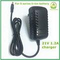 21v1. 2a lítio carregador de bateria para a Série 5 carregador de bateria para bateria de lítio com luz LED mostra o estado de carga boa qualidade