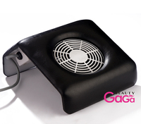 BNG 1 компл. черный лак пылесборник 100-240 В США ЕС Plug Дизайн ногтей маникюр салонов всасывания пыли очиститель