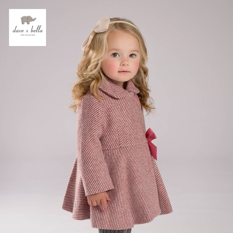 DB4060 davebella baby girls wool coat winter outerwear wool blends db4038 dave bella baby girls red wool blends aline outerwear