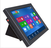 15 Inch Industrial Panel Computer Wall Mounted All In One Tablet PC