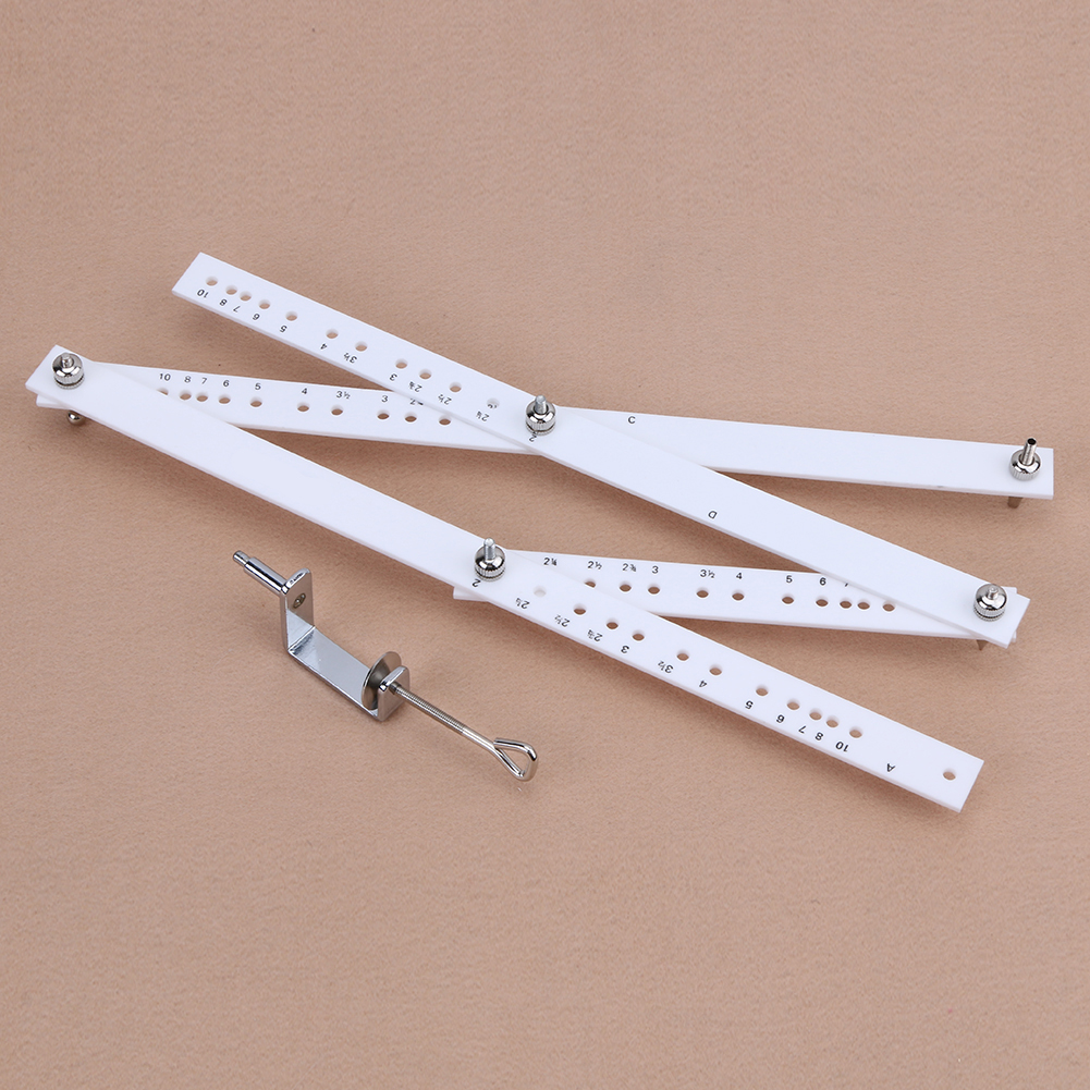 Scale Drawing Ruler Artist Pantograph Folding Ruler Reducer Enlarger Tool Art Craft For Office School Supplies