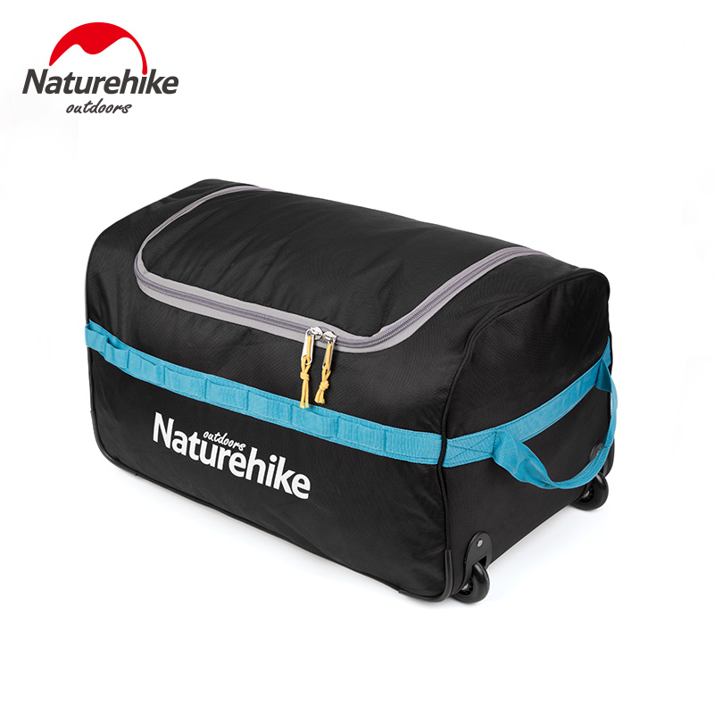 Naturehike Suitcase Kit Wheeled Foldable Storage Bag Large Capacity Outdoor Camping Hiking Travel 85L 110L